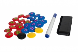 Magnet Set With Pen And Sponge